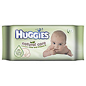 HUGGIES BABY WIPES NATURAL CARE 64