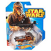 Star Wars Hot Wheels Chewbacca Die Cast Car