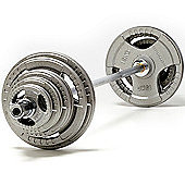 exercise 105kg Olympic Weight Set with 6ft Olympic Bar