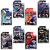 Hot Wheels Batman 75th Anniversary: Complete set of 8 Diecast Cars