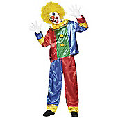 Child Clown Costume Large