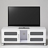 Stil-Stand High Gloss TV Cabinet - White