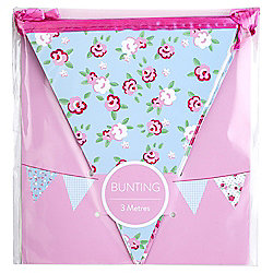 Table Fun Floral Bunting 3M
