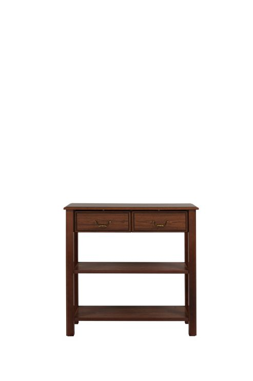Caxton Byron Console Table in Mahogany
