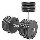 Body Power Pro-style Dumbbells 60kg (x2)