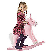 Pink Rocking Horse Unicorn