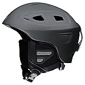 Smith Optics Venue Adult Ski Helmet Matte Graphite Medium, 55-59cm