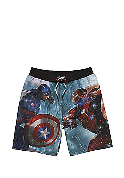 Marvel Captain America: Civil War Swim Shorts - Multi