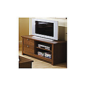 Elements Fusion 109cm Plasma TV Stand - Walnut