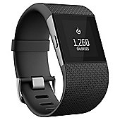 Fitbit Surge Fitness Tracking Smartwatch w/ Built in Heart Rate Monitor, Small