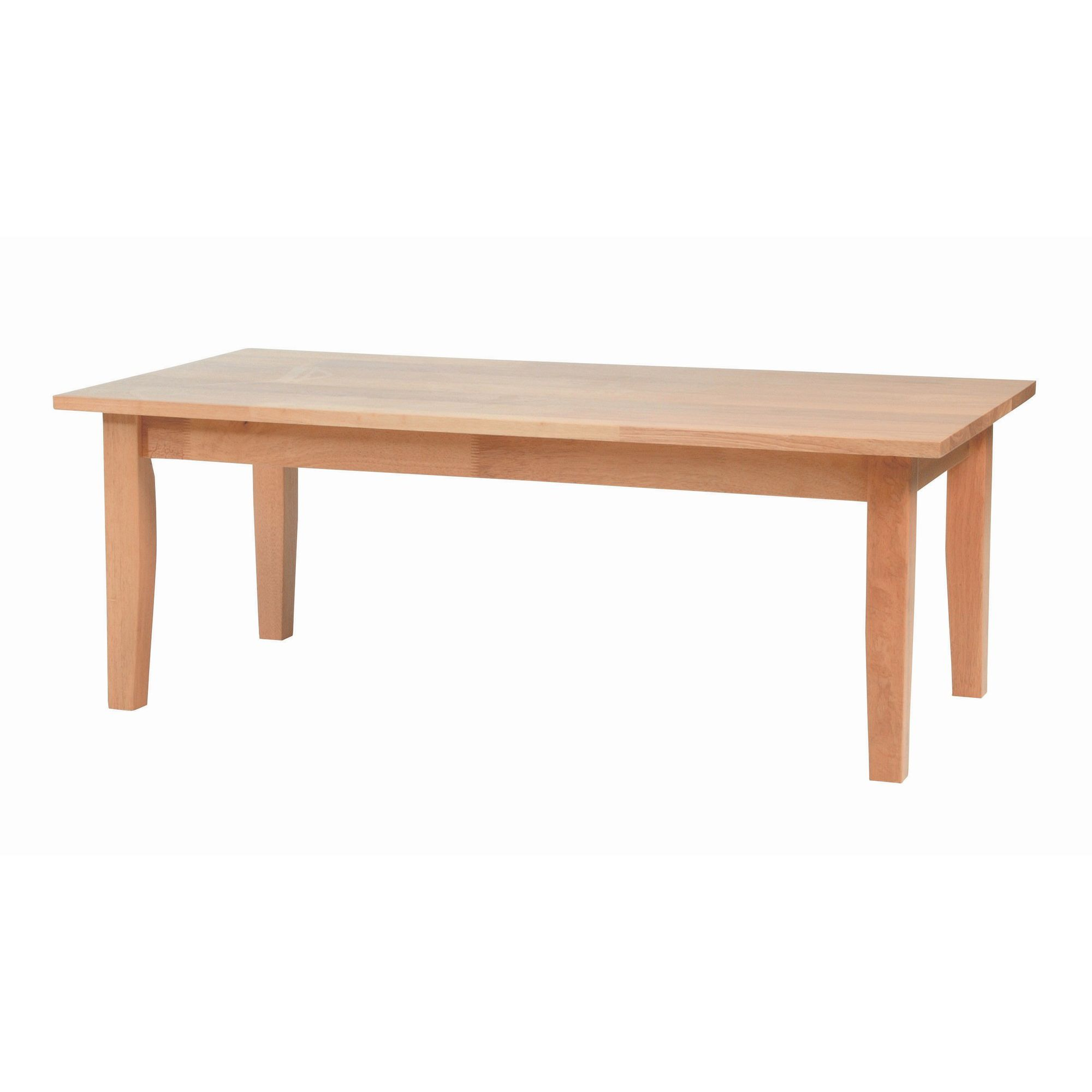 Home Zone Beech Occasional Coffee Table