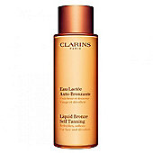 Clarins Liquid Bronze Self Tanning for Face and Decollete 125ml