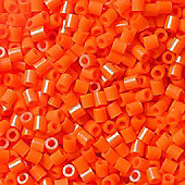 Hama Beads - Orange - 1000 Piece Bag - No 207-04 - DKL