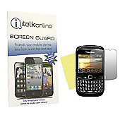 S-Protect LCD Screen Protector & Cleaning Cloth - BlackBerry 8520 Curve, 9300 3G