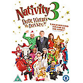 Nativity 3 Dude, Where's My Donkey DVD