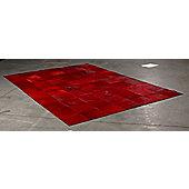 Angelo Starless Red Skin Rug - 300cm x 200cm (9 ft 10 in x 6 ft 6.5 in)