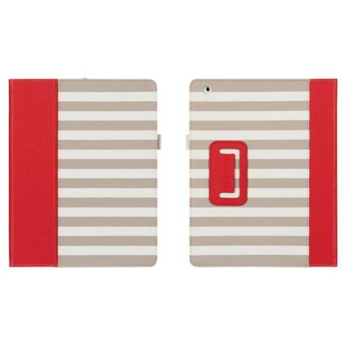 Griffin Cabana Folio Case for Apple iPad 3/iPad 2 - Red