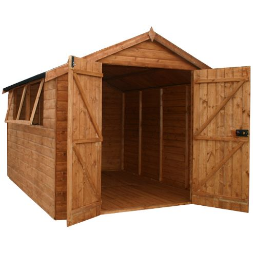 10x6 Easy Fit Premium Shiplap Apex Shed
