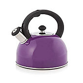 Cook Incolour - 2.5 Litre Plum Stove Top Kettle