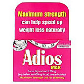 Dendron Adios Max Slimming Aid 100 Tablets