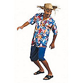 Hawaiian Shirt - Adult Costume Size: 42-44