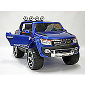 Kids Electric Car Ford Ranger 12 Volt Blue Gloss