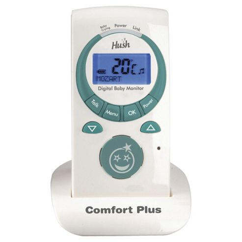 Hush Comfort Plus Advanced Digital Baby Monitor
