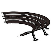 Carrera High Banked Curves 1/30 with Supports Track Pieces - 1.24 Scale