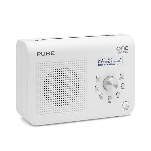 Pure Classic Series II DAB Digital & FM Radio - Black