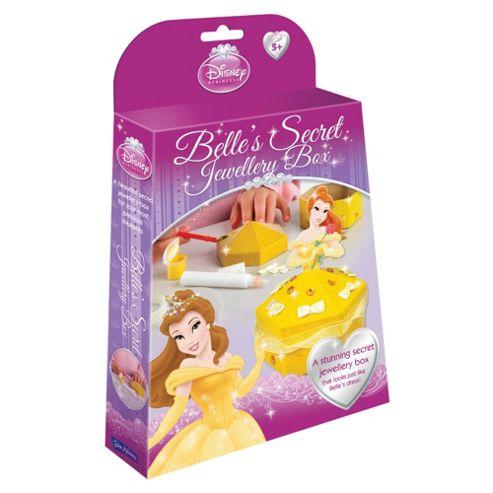 Disney Princess Belle'S Secret Jewellery Box