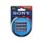 Sony Stamina Plus Alkaline AAA Batteries (4 pack)