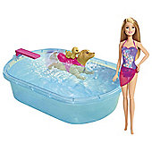Barbie Swimming Pup Doll