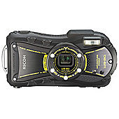 "Ricoh Optio WG-20 Digital Camera, Black, 14 MP, 5x Optical Zoom, 2.7"" LCD Screen, Waterproof"