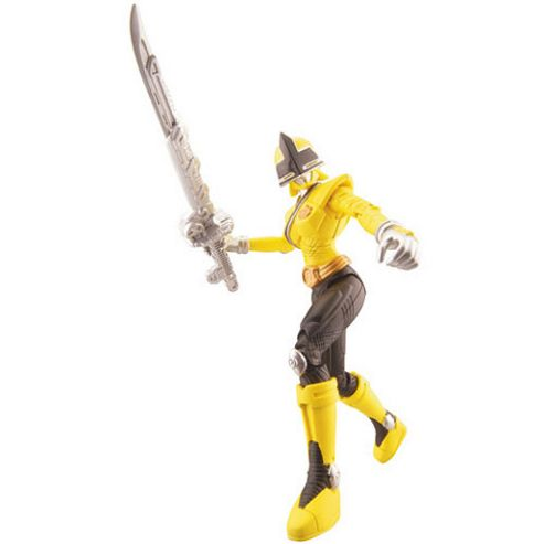 Power Rangers Samurai 10cm Figure - Yellow Ranger