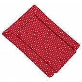 By Carla Raspberry Bloom Changing Mat - Small