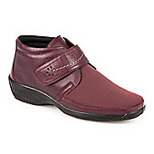 Pavers Leather Shoe Boot - Burgundy