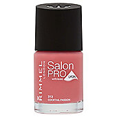 Rimmel London Salon Pro with Lycra Nail Polish 313 Cocktail Passion