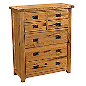 Kelburn Furniture Parnell 7 Drawer Chest