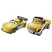 Disney Pixar Cars 2 - Race Team John Lassetire and Jeff Gorvette