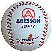 Aresson Softy Leather Rounders Practice Ball
