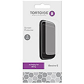 Tortoise™ HTC Desire C Screen Protector Twin Pack