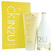 Calvin Klein CKIN2U Female 150ml Eau de Toilette Gift Set