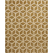 Think Rugs Fusion Beige Tufted Rug - 120 cm x 170 cm (3 ft 9 in x 5 ft 7 in)