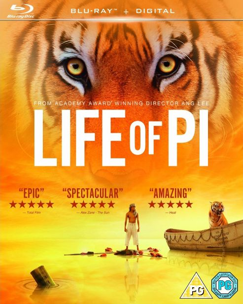 Life Of Pi - (Blu-Ray + Digital Copy)