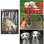Toyrific 500 Piece Dog Jigsaw Puzzle