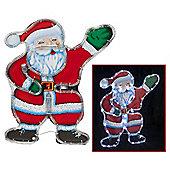 Santa Figure Christmas Rope Light