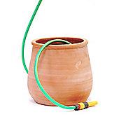 Terracotta hose pot