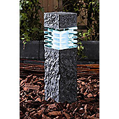 Garden Lights Phobos 20 Light Bollard in Anthracite