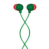 House of Marley Little Bird In Ear Headphones (Rasta)