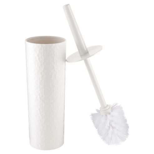 buy tesco textured plastic toilet brush white from our. Black Bedroom Furniture Sets. Home Design Ideas